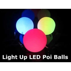 LightUp 70mm Poi Ball