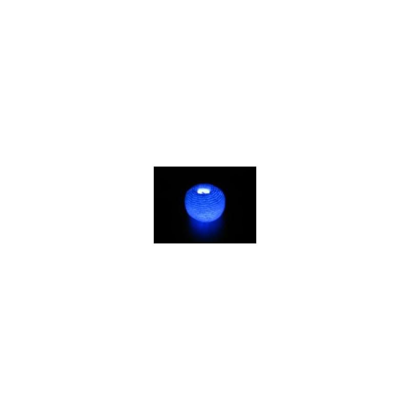 Balle Lumineuse Bleu en Coton