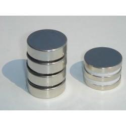 2 Disk magnet, 25mm X 2.5mm
