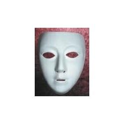 White mask female
