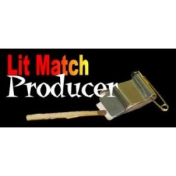 Lit match producer