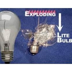 Exploding Light Bulb - econo