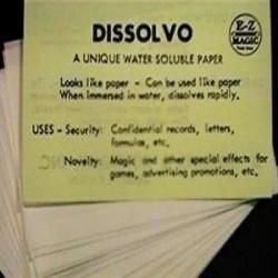 Spy Paper Dissolvo - sm