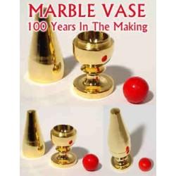 Gold Marble Vase