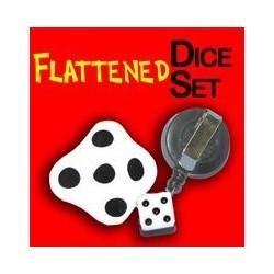 Flattened Dice Set