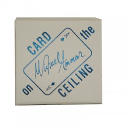 Card on Ceiling by Michael...