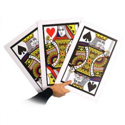 Giant Automatic 3 Card Monte
