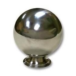 "Zombie Ball Small 3""1/2 Silver"