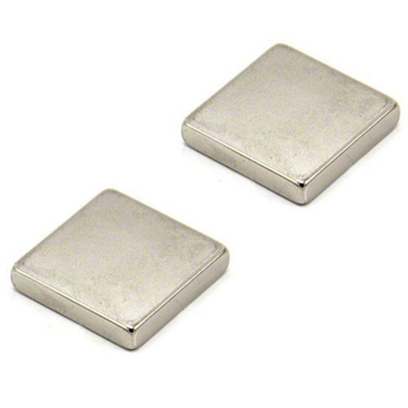 1 Square magnet, 25mm X 25mm X 5mm