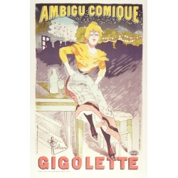 Ambigue Comique Gigolette - Albert Guillaume