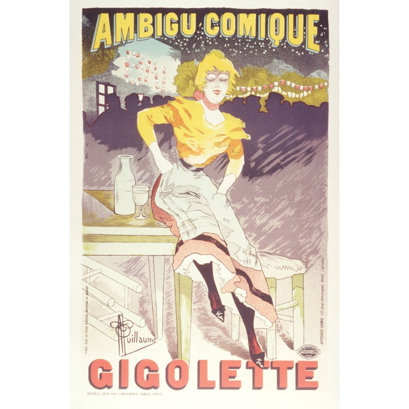 Ambigue Comique Gigolette - Albert Guillaume