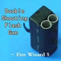 Double Shooting Flash Gun (The 5th fire wizard)