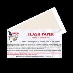 Flash paper (Envelope of 4...