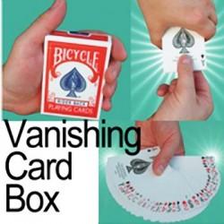 Vanishing Card Box - Bicycle