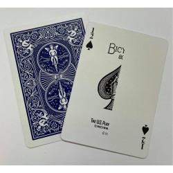 1/2 Ace of Spades Blue...