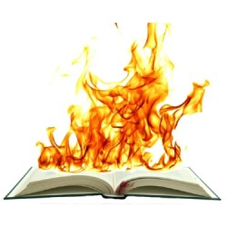Hot Book flaming - Deluxe