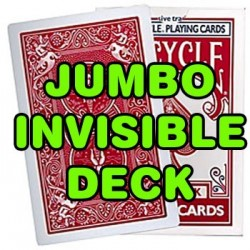 Jumbo Invisible Deck Bicycle