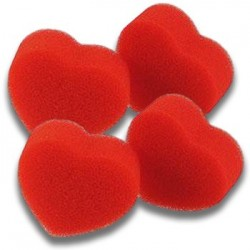 Ultra Soft Red Hearts Set -...