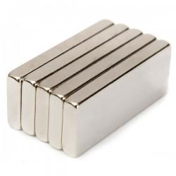 1 Rectangular magnet, 50x5x2.5mm