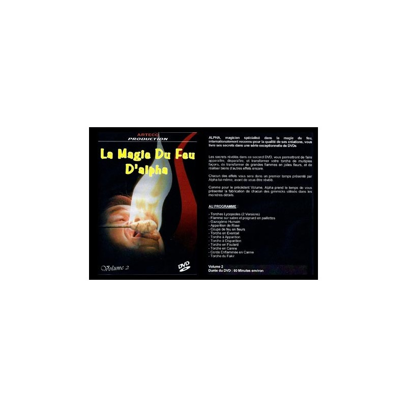 Alpha DVD vol.2 - La Magie du feu