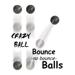 Bounce / No Bounce Balls 1''