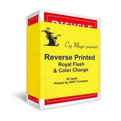Reverse Printed Cards