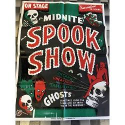 Spook Sow Vintage Poster