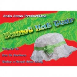 Bonnet Paper Hat Tear by Andy Amyx