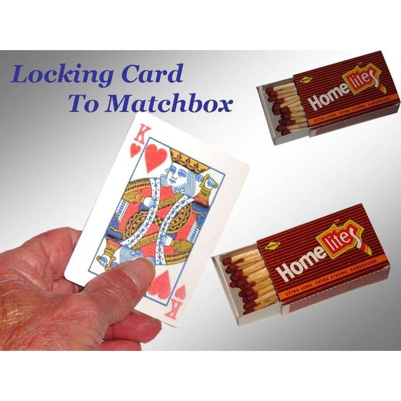 Locking Card to Matchbox