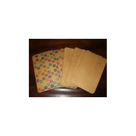 Flash paper (Envelope of 4 sheets)