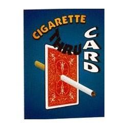 Cigarette thru Card -...