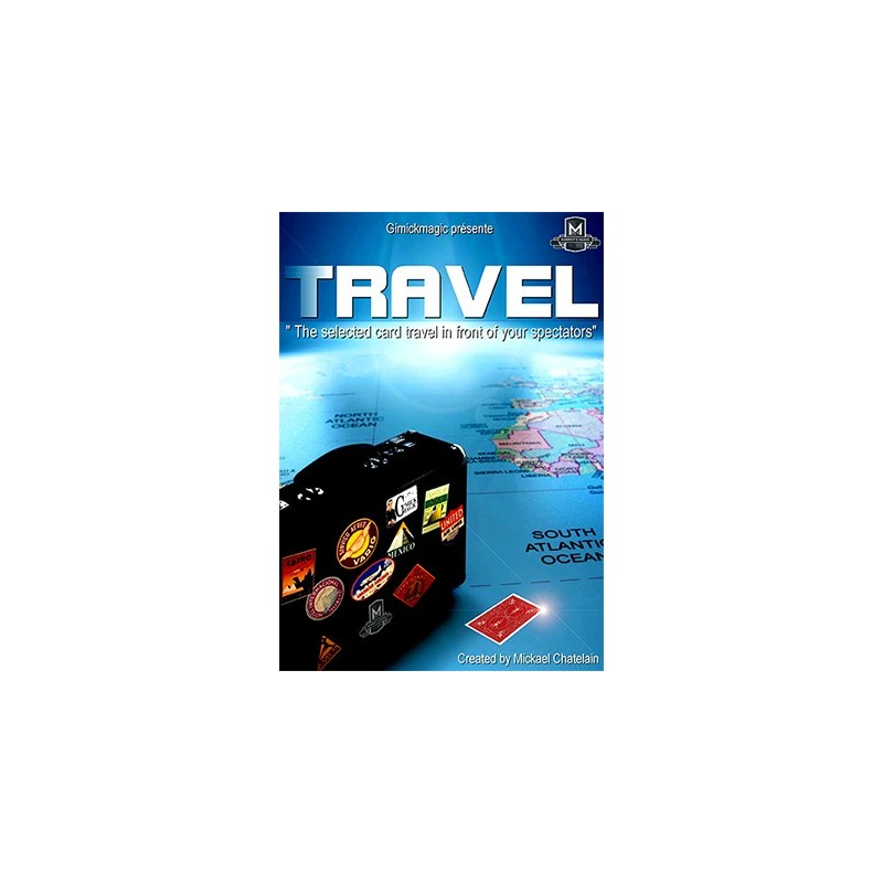 TRAVEL (Red) by Mickael Chatelain