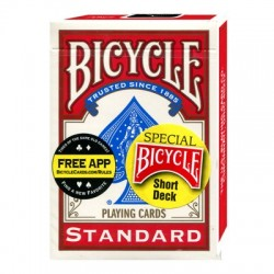 Bicycle Short Deck by US Playing Card Co.