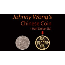 Johnny Wong's Chinese Coin (Half Dollar Size)