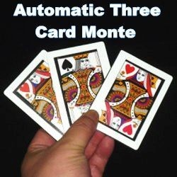 Automatic 3 Card Monte -...