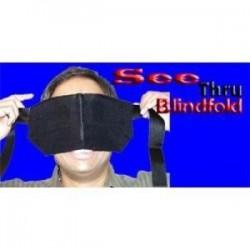 See thru blindfold
