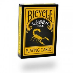 Black Scorpion Deck Bicycle