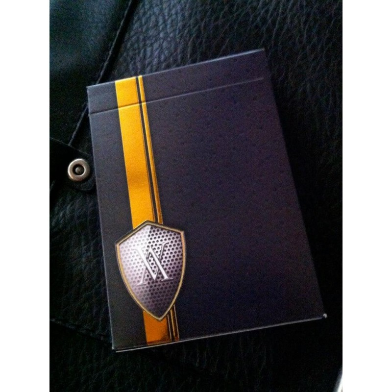Verve Luxury Playing Cards Shine Yellow Edition
