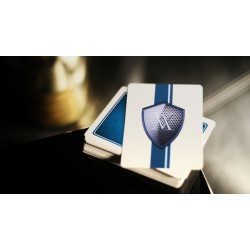 Verve Luxury Playing Cards Shine Blue Edition