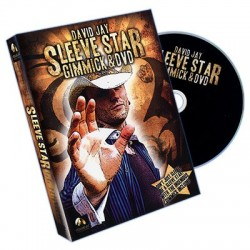 Sleeve Star (DVD and Gimmick) by Wizard FX Productions and David Jay