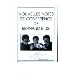 Nouvelles notes de conférence de Bernard Bilis