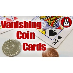 Vanishing Coin Cards