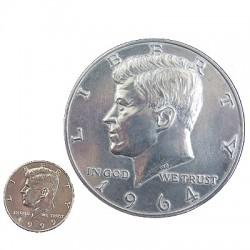 """Jumbo US Half Dollar 3"""""""